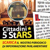 Scarica e leggi Cittadini5StArs il periodico del gruppo parlamentare Cinque Stelle all'Assemblea regionale siciliana.