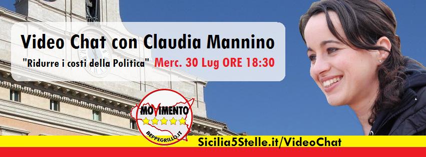 video chat claudia mannino