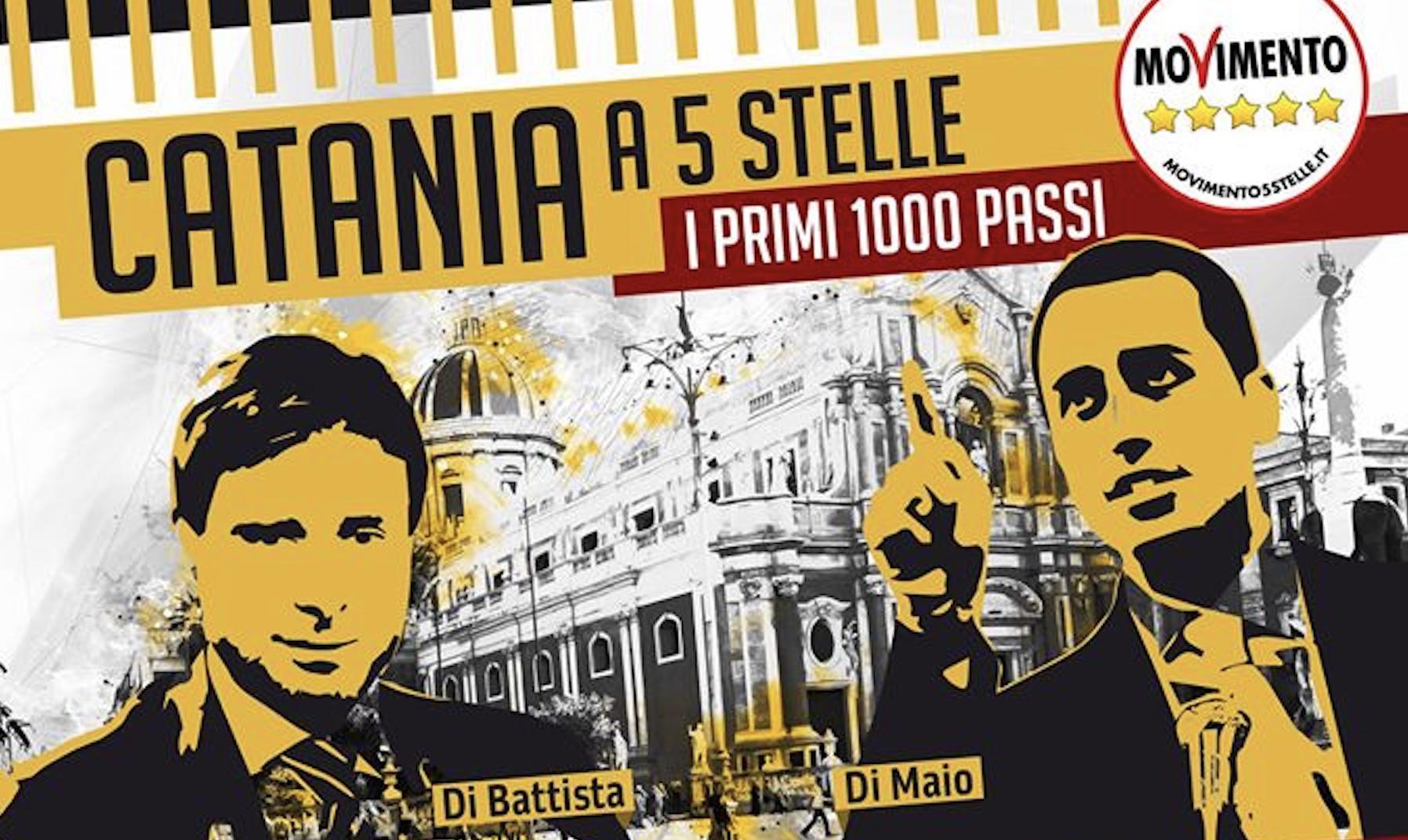 I 5 stelle a Catania, previsti interventi di Di Maio e Di Battista$
