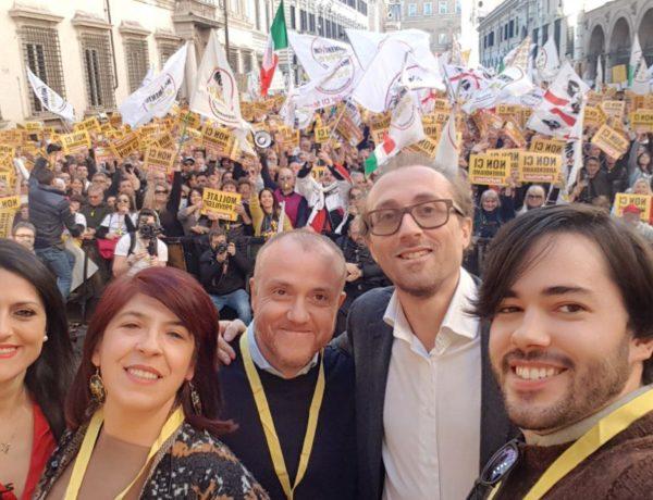 Vitalizi, M5S Sicilia in gran numero alla manifestazione di Roma